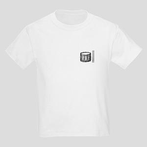 Kids Snare Drum & Sticks T-Shirt
