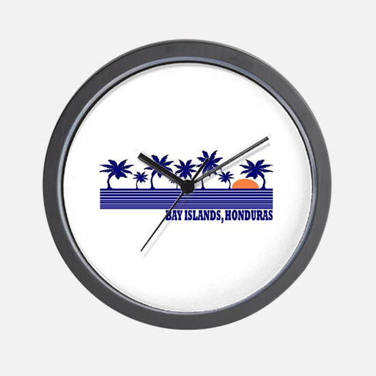 Bay Islands, Honduras Wall Clock