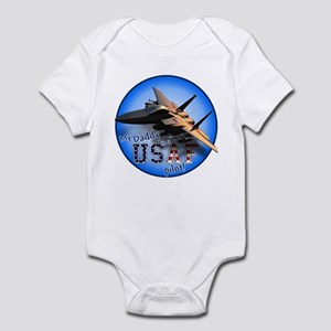 Daddy USAF Pilot (F-15)bc  Infant Bodysuit