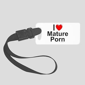 Mature Porn Small Luggage Tag