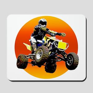 ATV Racing to Sunset Mousepad