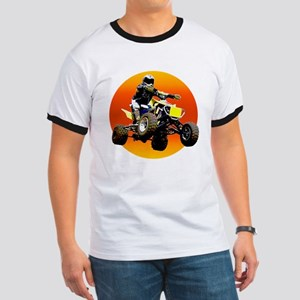 ATV Racing to Sunset Ringer T