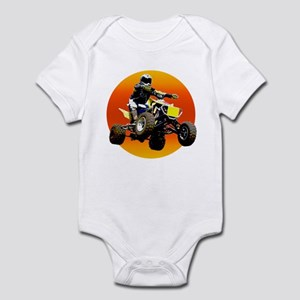 ATV Racing to Sunset Infant Bodysuit