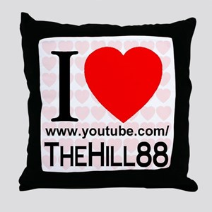 I Love TheHill88 Throw Pillow