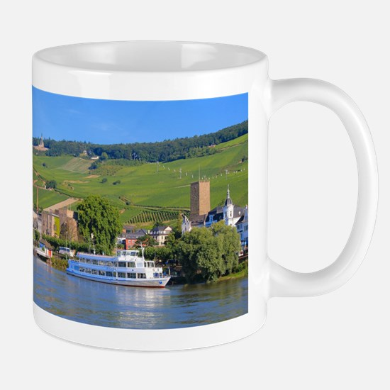 Cruise boat Rudesheim, Germany Mugs