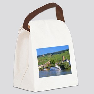 Cruise boat Rudesheim, Germany Canvas Lunch Bag