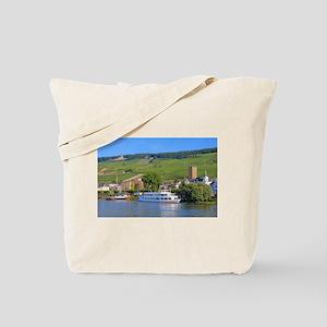 Cruise boat Rudesheim, Germany Tote Bag