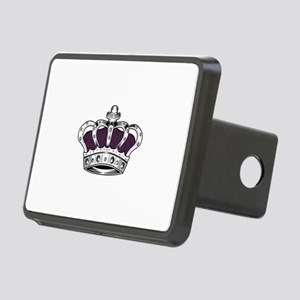 Crown - Purple Rectangular Hitch Cover