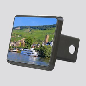Cruise boat Rudesheim, Ger Rectangular Hitch Cover