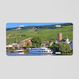Cruise boat Rudesheim, Germ Aluminum License Plate