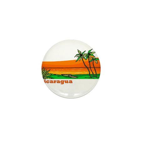 Nicaragua Mini Button (100 pack)