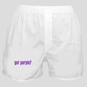 got purple? Boxer Shorts