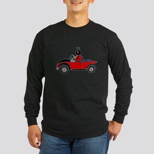 Ladybug Driving Bug Long Sleeve T-Shirt