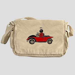 Ladybug Driving Bug Messenger Bag