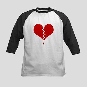 Broken Heart Kids Baseball Jersey