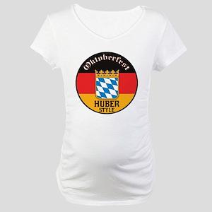 Huber Oktoberfest Maternity T-Shirt