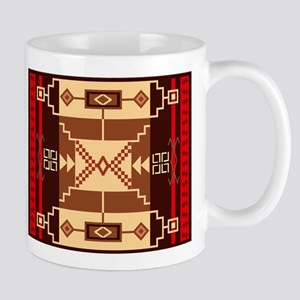 Santa Fe style Navajo Rug Mugs