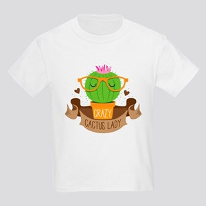 Crazy cactus lady on a banner T-Shirt