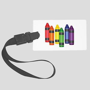 Crayons Luggage Tag