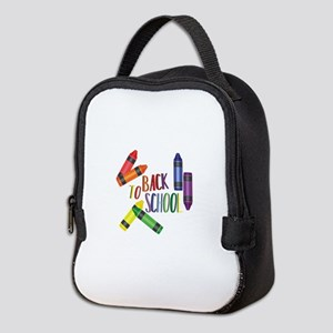 Back To School Neoprene Lunch Bag