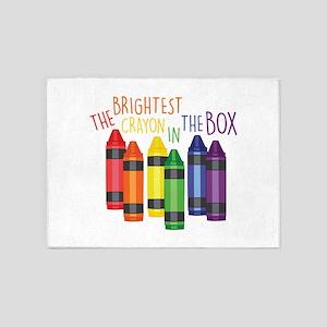 Brightest Crayon 5'x7'Area Rug