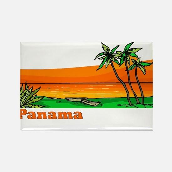 Panama Rectangle Magnet