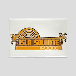 Isla Solarte, Panama Rectangle Magnet