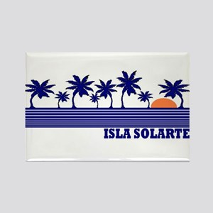 Isla Solarte, Panama Rectangle Magnet