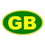 Green Bay, Wisconsin Oval Sticker
