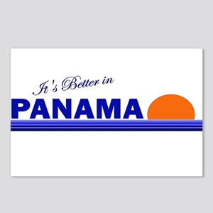 Its Better in Panama Postcards (Package of 8)