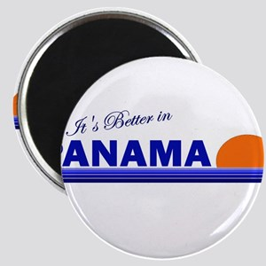 Its Better in Panama Magnet