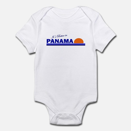 Its Better in Panama Infant Bodysuit