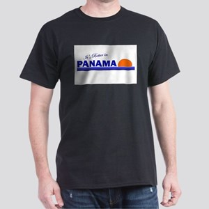 Its Better in Panama Dark T-Shirt