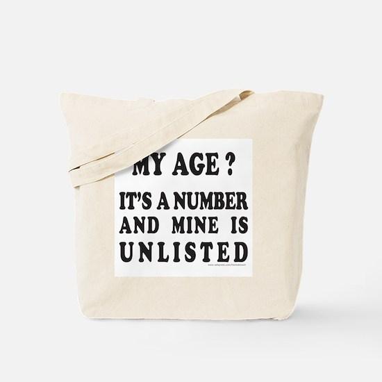 CELEBRATE BIRTHDAY Tote Bag