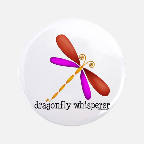 """Lg. Dragonfly 3.5"""" Button (100 pack)"""