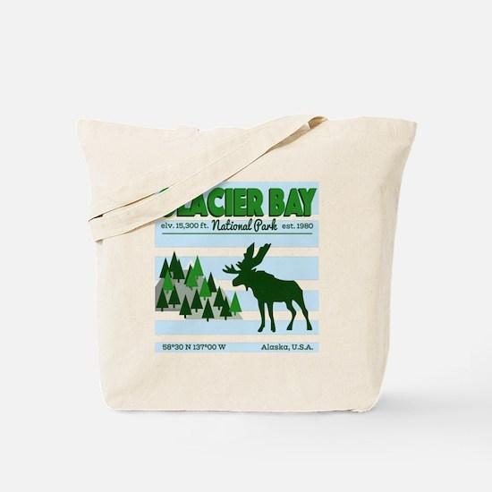Funny Moose camping Tote Bag