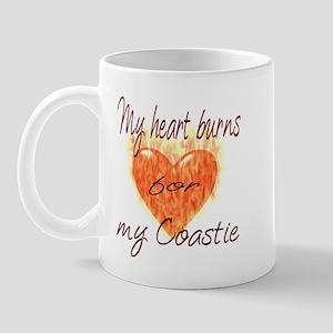 Burning Heart Coastie Mug
