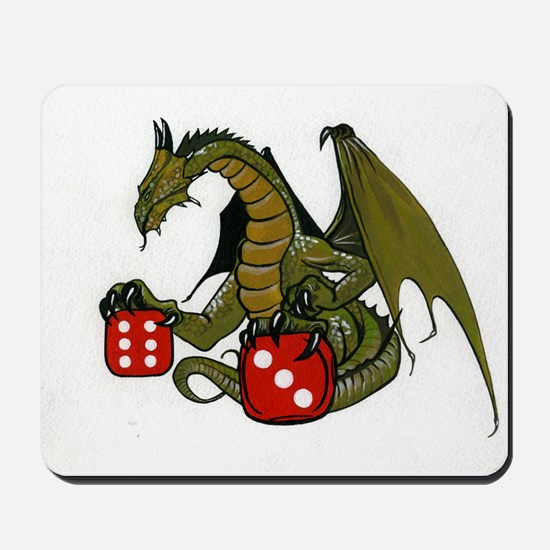 Dice and Dragons Mousepad