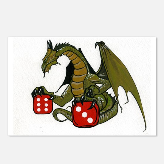 Dice and Dragons Postcards (Package of 8)