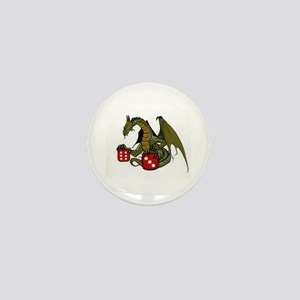 Dice and Dragons Mini Button