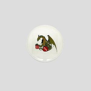 Dice and Dragons Mini Button