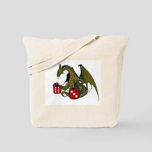 Dice and Dragons Tote Bag