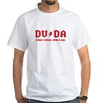 DVDA ACDC White T-Shirt