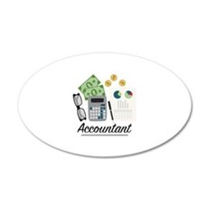 Accountant Profession Wall Decal