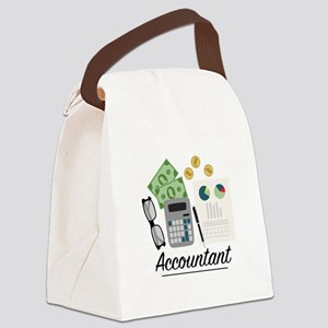 Accountant Profession Canvas Lunch Bag