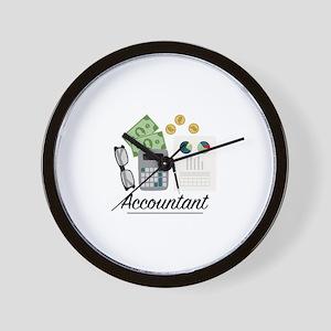 Accountant Profession Wall Clock