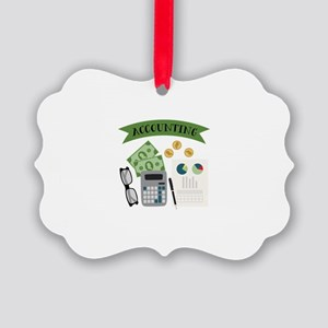 Accounting Ornament