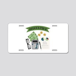 Accounting Aluminum License Plate