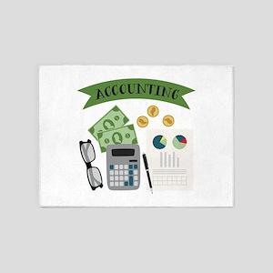 Accounting 5'x7'Area Rug