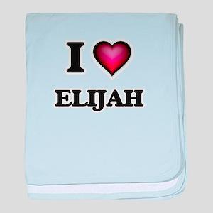I love Elijah baby blanket